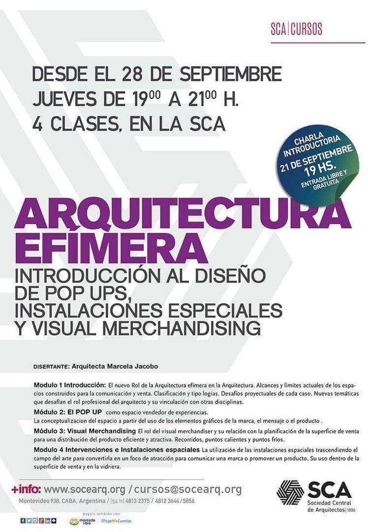 Curso: Arquitectura Efímera
