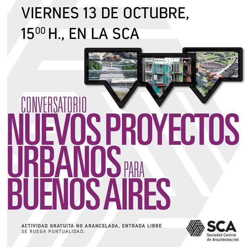 Conversatorio nuevos proyectos urbanos