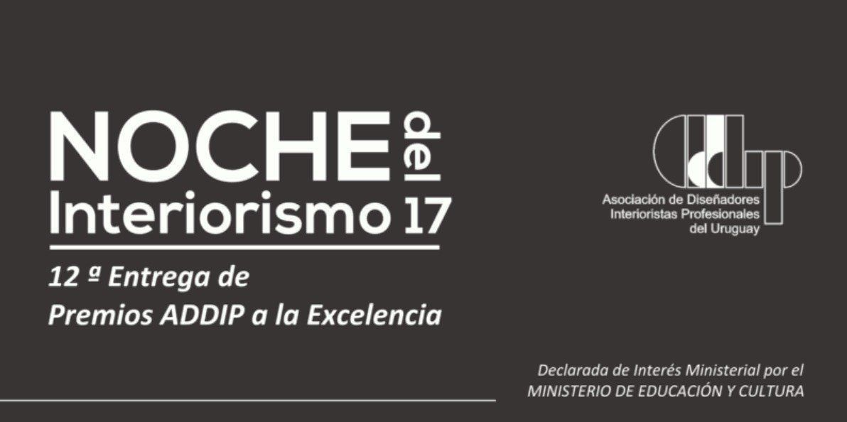 Noche del Interiorismo 2017 ADDIP