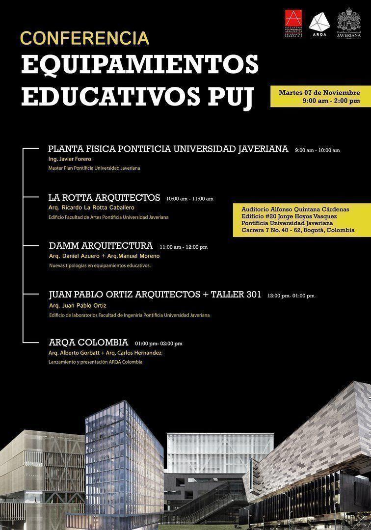 equipamientos educativos