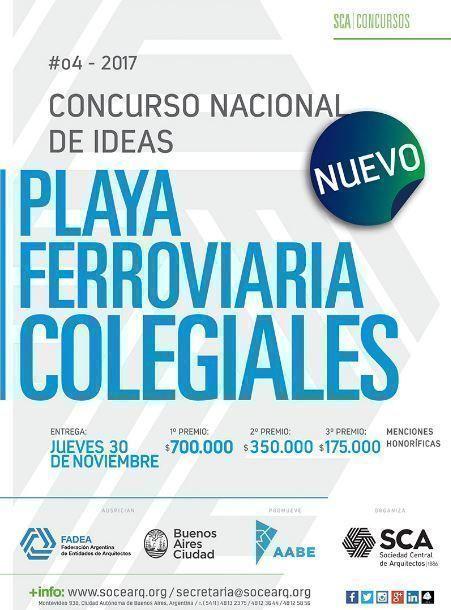 Concurso Nacional de Ideas Playa Ferroviaria Colegiales