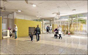 Escuela Inicial, Render Interior