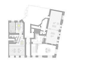 Drawings: by Barbora Lébová Interiors & Architecture and AIH . ARCHITECT IVO HERMAN