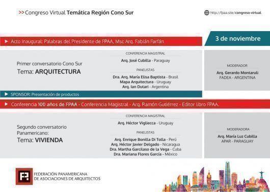 ARQA - 25º Congreso Panamericano de Arquitectos – FPAA