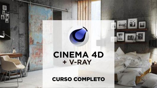 Curso Cinema 4d + V-Ray