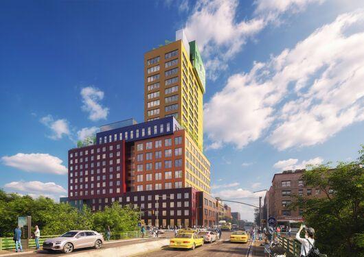 Radio Tower & Hotel, primer proyecto de gran altura de MVRDV en EEUU