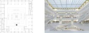 Cuando la geometría genera el proyecto: bibliotecas