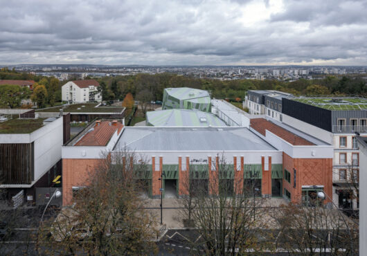 Le Pavillon de Romainville, la revelación verde para el patrimonio cultural