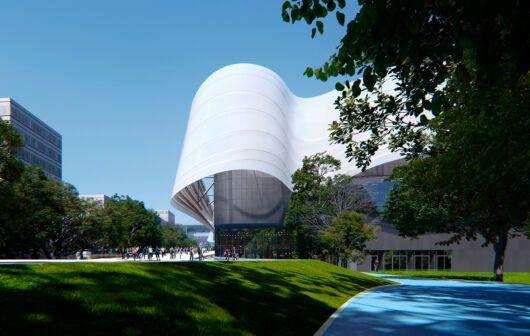 Centro Acuático para los Juegos Olímpicos París 2024: el poder del agua