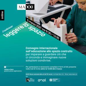 Leggere lo spazio, conferencia internacional arquitectura y educación