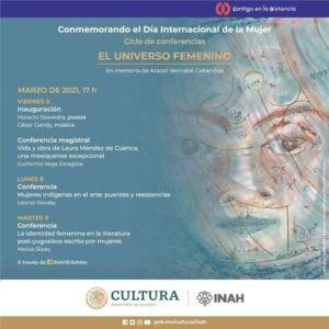 Ciclo de conferencias: El Universo Femenino