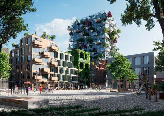 De Oosterlingen, un bloque de edificios residenciales sostenibles