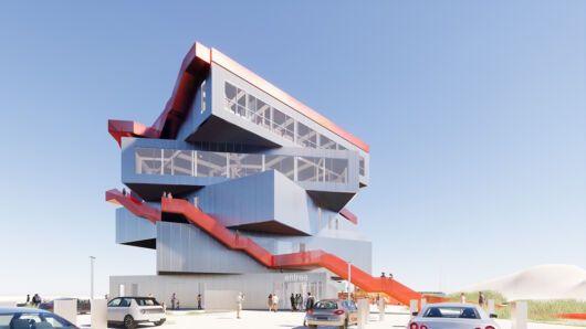 Centro de Exhibición y de visitantes para el Puerto de Rotterdam