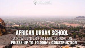 Nuevo Concurso: Una Escuela Urbana en África